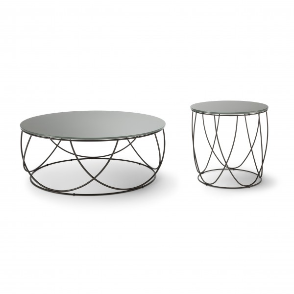 Rolf Benz 8770 coffee and side table - Image 1