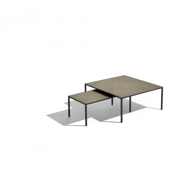 Harry glass coffee and side tables - Image 2
