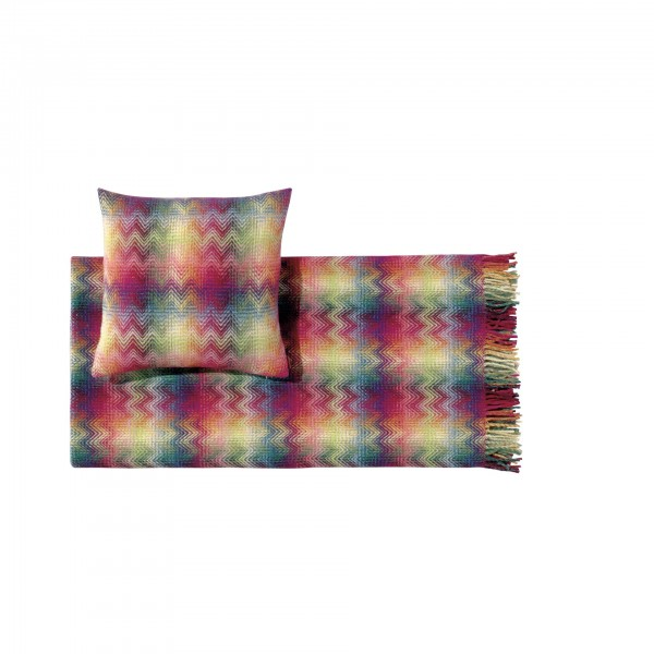 Montgomery Throw Blanket and Cushion - Lifestyle