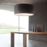 Silenzio suspension lamp