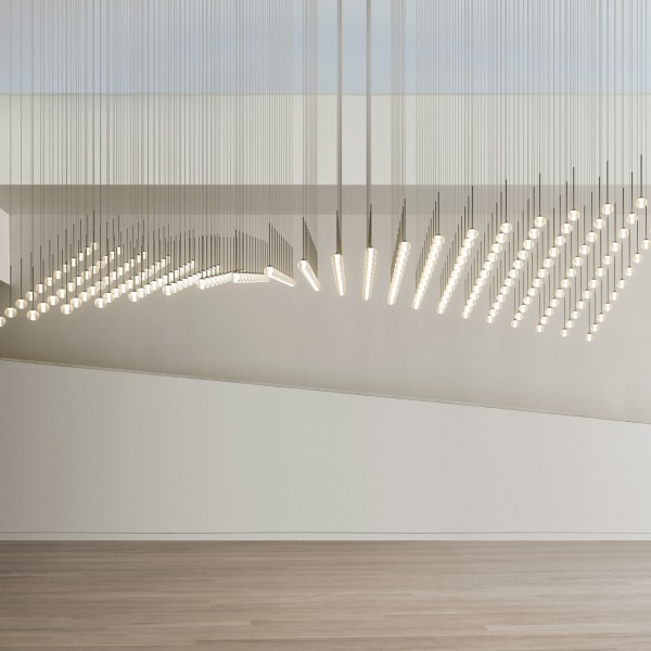 Algorithm suspension lamp - Lifestyle