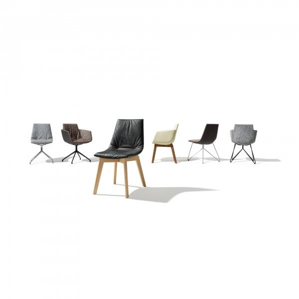 Lui chair, wire base - Image 3