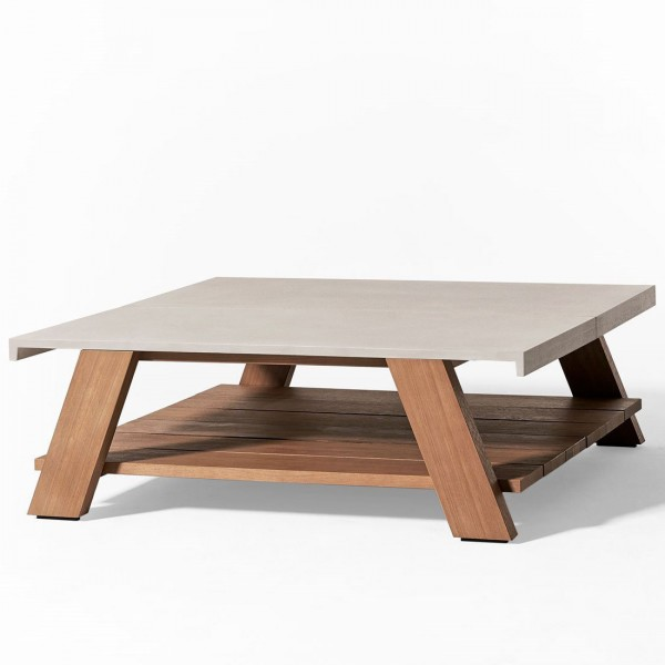 Joi Open Air Coffee Table - Lifestyle