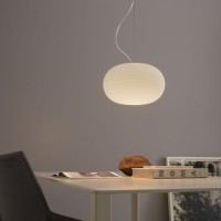 Bianca suspension lamp