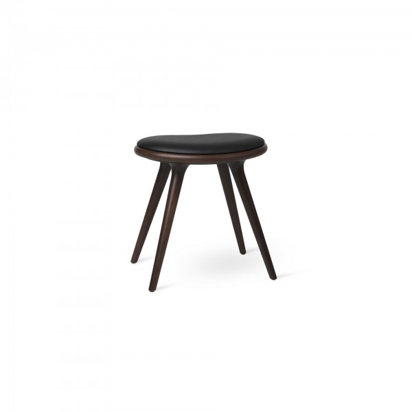 Low Stool Dark stained beech - Lifestyle