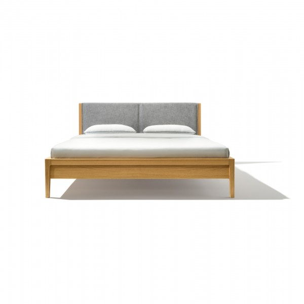 Mylon bed with upholstered headboard - Lifestyle