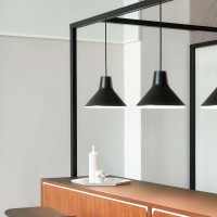 Archetype suspension lamp