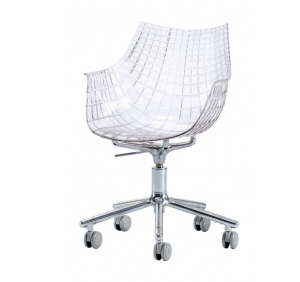 Meridiana chair on castors - Image 1