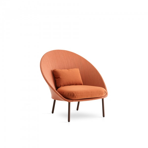 Twins outdoor low armchair - Image 1