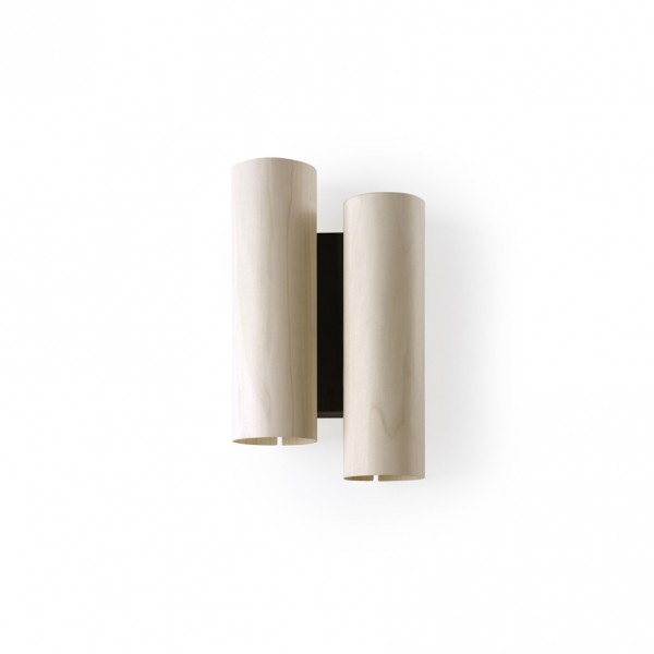 Black Note Duplet wall sconce - Lifestyle