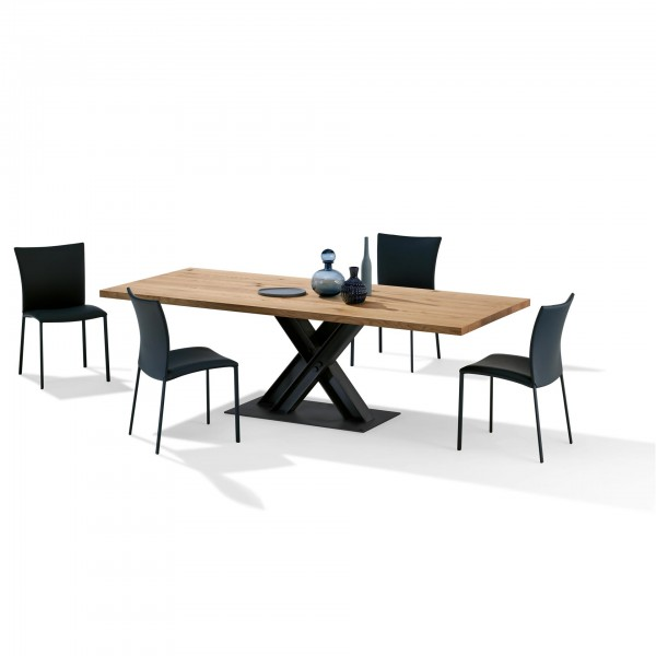 Victor 1470 Wood Top Table - Lifestyle