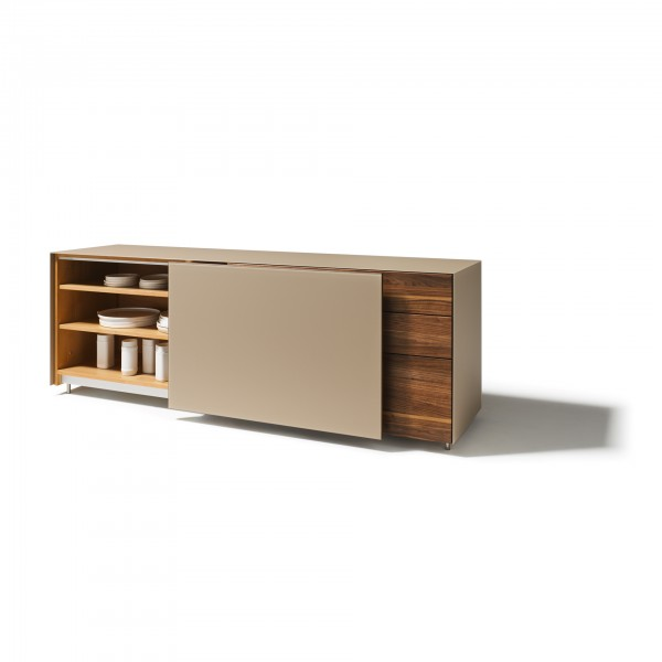 Cubus Pure Sideboards with flush-mounted sliding doors - Image 2
