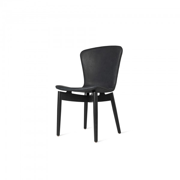 Shell Dining Chair Dunes Anthracite Black - Image 2