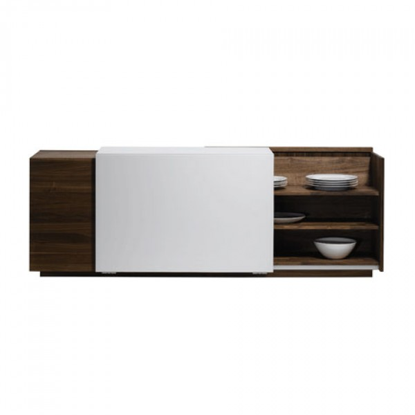 Cubus In Motion sideboard with angled sliding door - Image 2