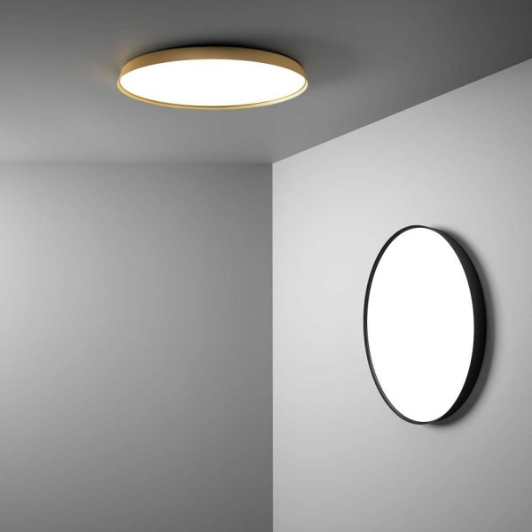 Compendium Plate wall and ceiling light - Lifestyle