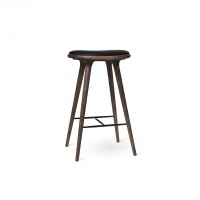 High Stool Dark stained oak