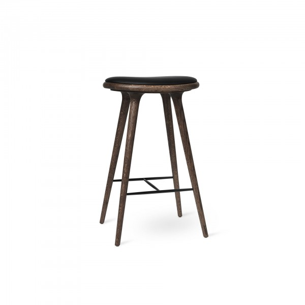 High Stool Dark stained oak - Lifestyle
