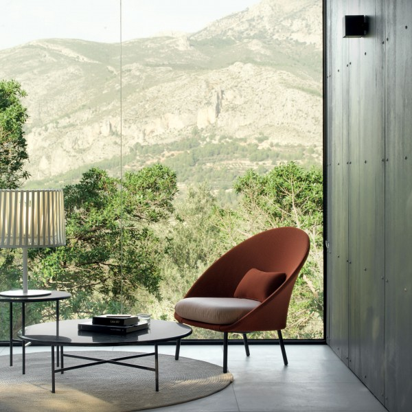 Twins outdoor low armchair - Image 2