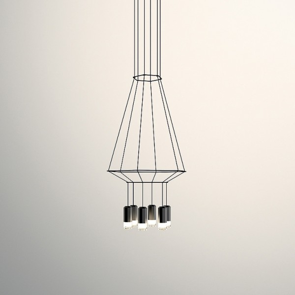 Wireflow Volumetric suspension lamp - Image 2