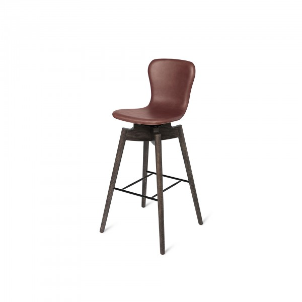 Shell Barstool Ultra Cognac - Lifestyle