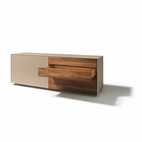 Cubus Pure Sideboards with flush-mounted sliding doors - Image 1
