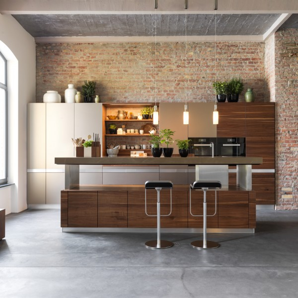 K7 kitchen island - Lifestyle