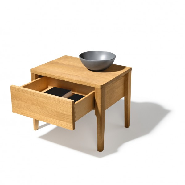 Mylon night stand, 1 drawer - Image 2