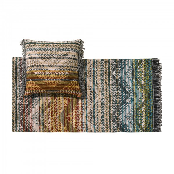 Yannoulis Throw Blanket and Cushion - Lifestyle
