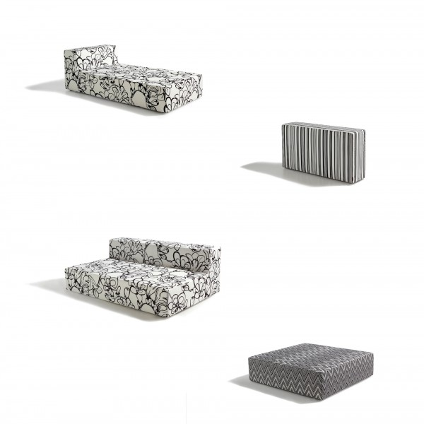 Nap Outdoor Modular Seating System - Lifestyle