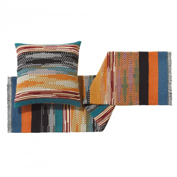 Yailin Throw Blanket and Cushion - Lifestyle