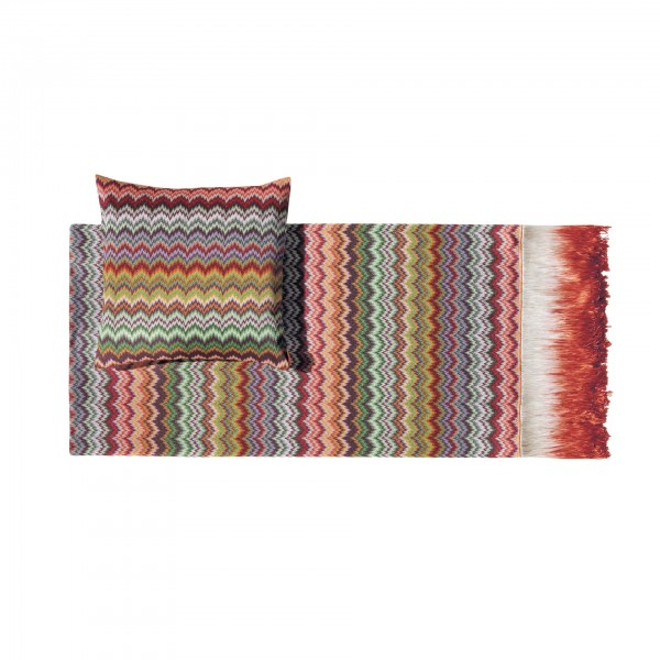 Prudence Throw Blanket and Cushion - Lifestyle
