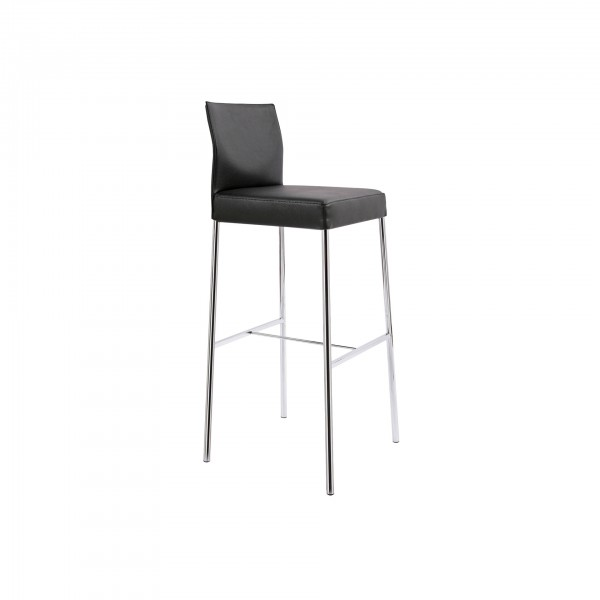 Glooh counter & barstool with 4-leg tubular steel frame