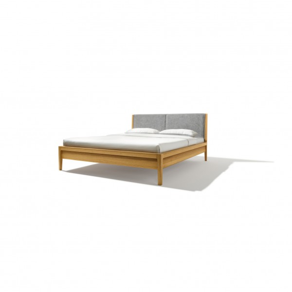 Mylon bed with upholstered headboard - Image 1