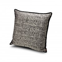 Ideogramma Silk Cushion