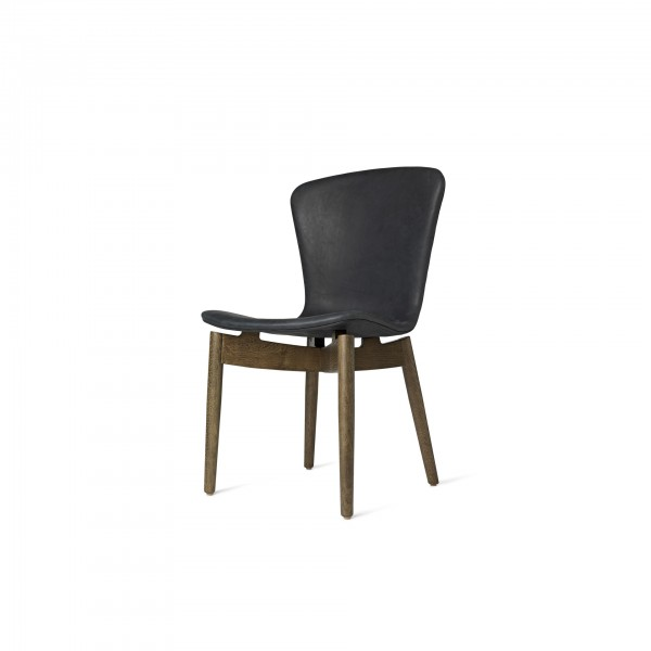 Shell Dining Chair Dunes Anthracite Black - Image 1