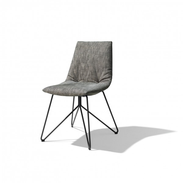 Lui chair, wire base