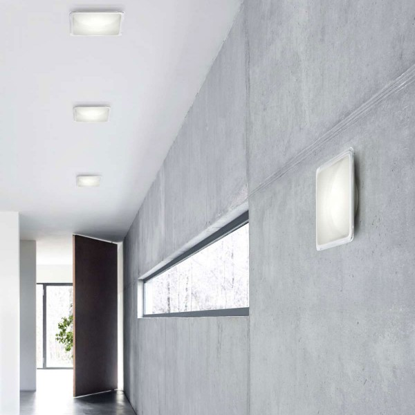 Illusion ceiling and wall lamp - Lifestyle