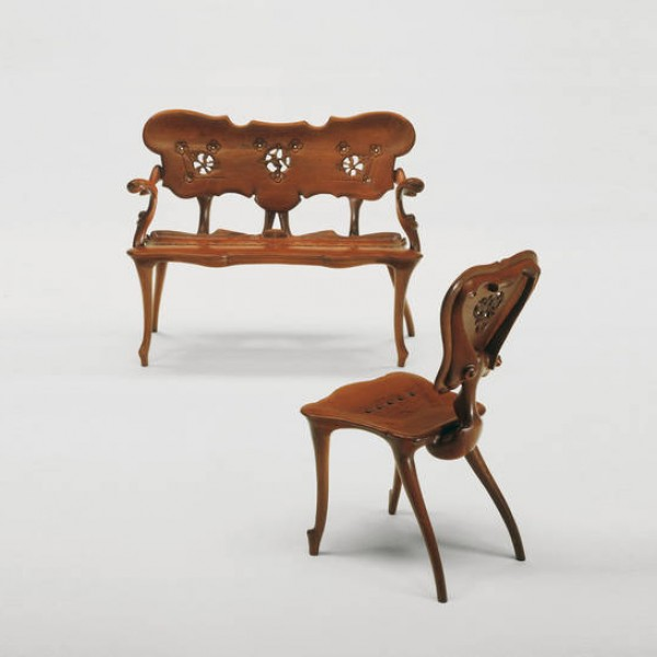 Calvet chair  - Image 1