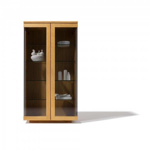 Cubus glass cabinet  - Lifestyle