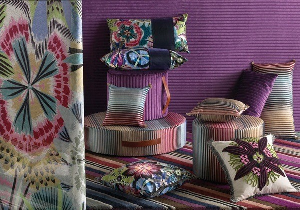 Passion Flower Cushion - Image 2
