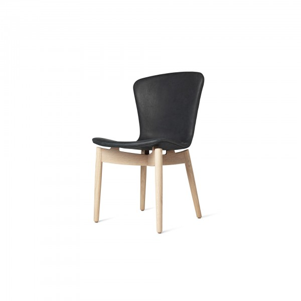 Shell Dining Chair Dunes Anthracite Black - Lifestyle