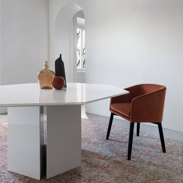Plinto 2K Editions dining table - Lifestyle