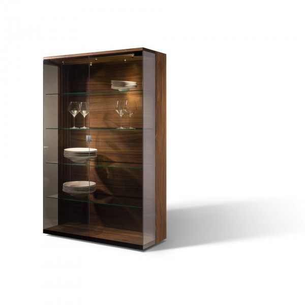 Nox glass cabinet - Lifestyle
