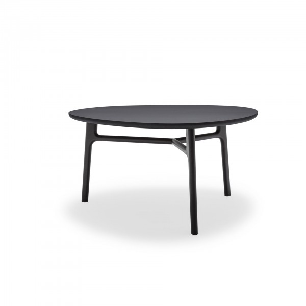 Rolf Benz 909 Angular Table with Rounded Sides - Lifestyle