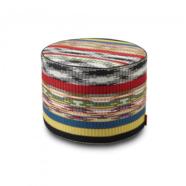 Yaren Cylindrical Pouf - Lifestyle