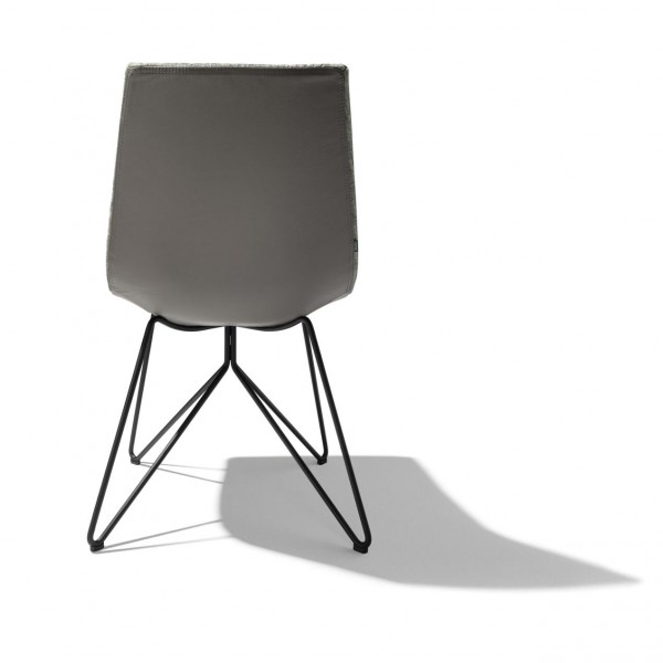 Lui chair, wire base - Image 2
