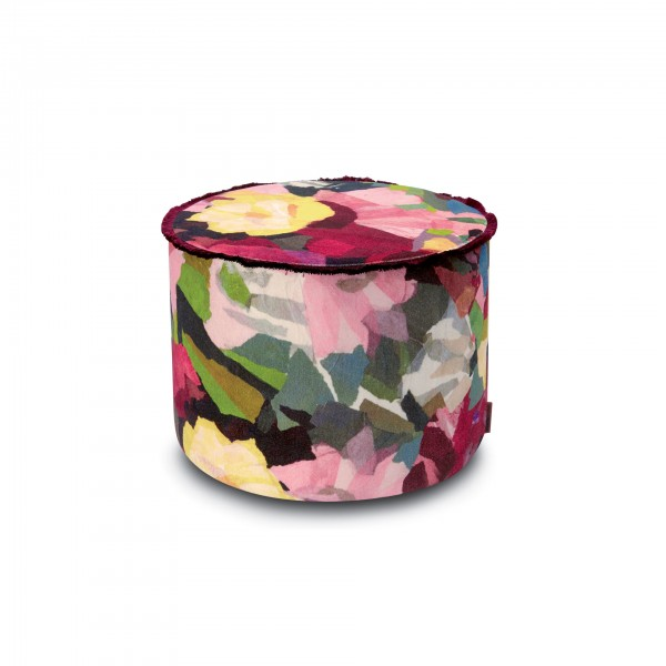 Wight Cylindrical Pouf - Lifestyle