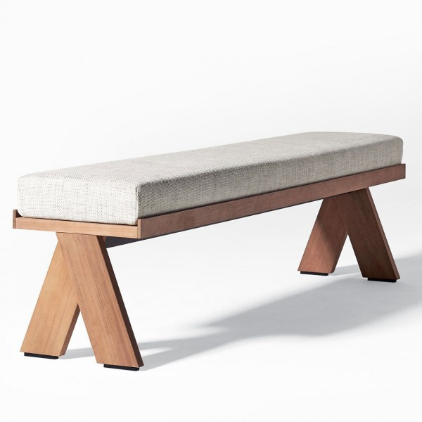 Joi Open Air bench - Lifestyle