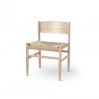 Nestor Chair - Matt Lacquered Oak - Paper Cord Seat