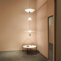 Flamingo suspension light